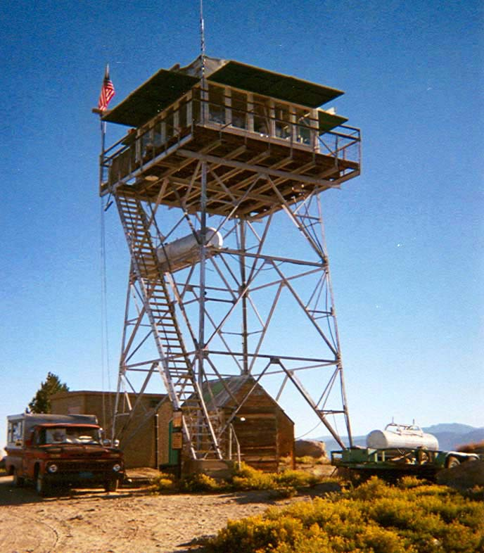 Fire Lookout Towers In California